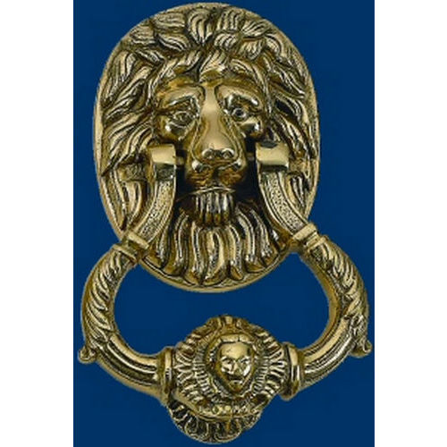 Brass Accents A07-K5010 Lion Knocker 6-1/4