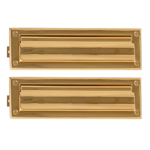 Brass Accents A07-M0010-605 Mail Slot - 3-5/8