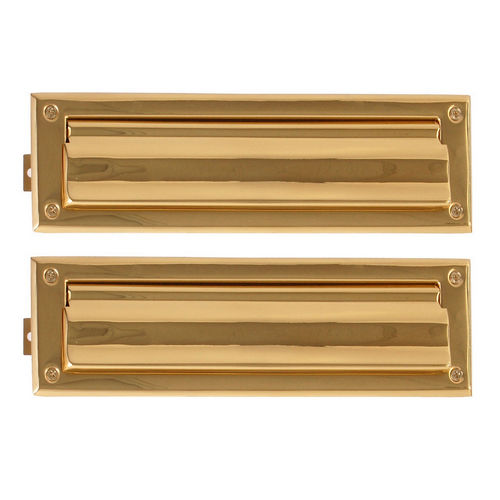 Brass Accents A07-M0050-605 Mail Slot - 3