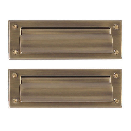 Brass Accents A07-M0050-609 Mail Slot - 3