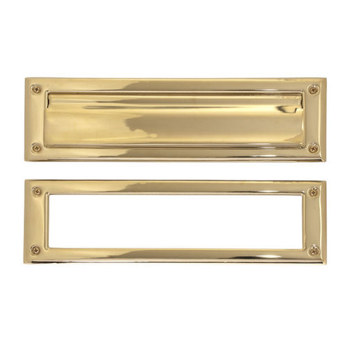 Brass Accents A07-M0070-PVD Mail Slot - 3