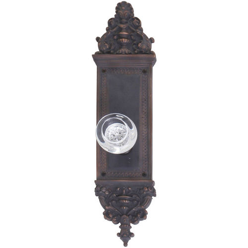 Brass Accents D04-K522A-EMP Renaissance Collection Door Plate Set, Venetian Bronze