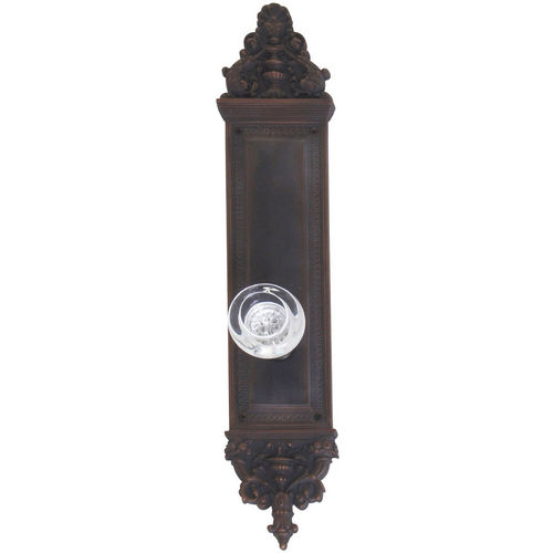 Brass Accents D04-K523A-EMP Renaissance Collection Door Plate Set, Venetian Bronze