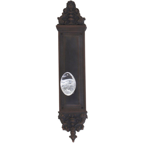 Brass Accents D04-K523A-GTN Renaissance Collection Door Plate Set, Venetian Bronze