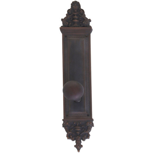 Brass Accents D04-K523A-NET Renaissance Collection Door Plate Set, Venetian Bronze