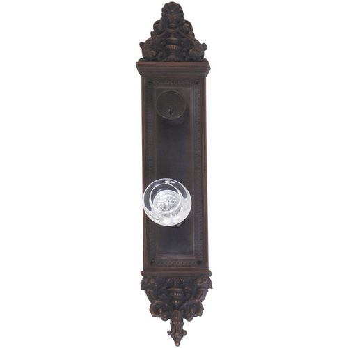 Brass Accents D04-K523J-EMP Renaissance Collection Door Plate Set, Venetian Bronze