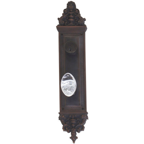 Brass Accents D04-K523J-GTN Renaissance Collection Door Plate Set, Venetian Bronze