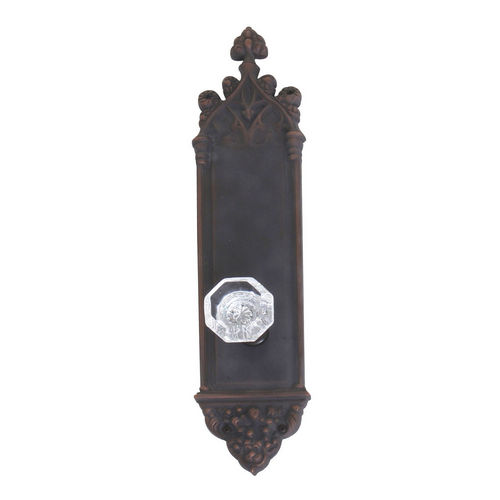 Brass Accents D04-K560A-HTF Renaissance Collection Door Plate Set, Venetian Bronze