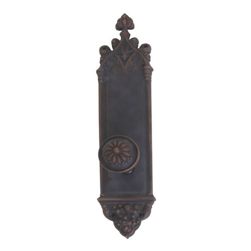 Brass Accents D04-K560A-HLS Renaissance Collection Door Plate Set, Venetian Bronze