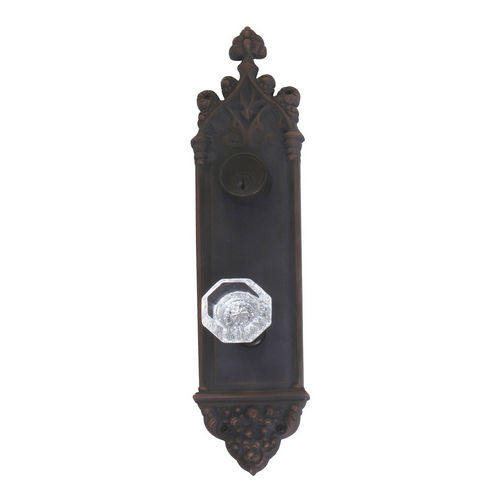 Brass Accents D04-K560J-HTF Renaissance Collection Door Plate Set, Venetian Bronze
