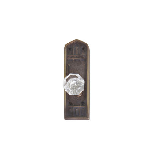 Brass Accents D04-K582A-HTF Renaissance Collection Door Plate Set, Aged Brass