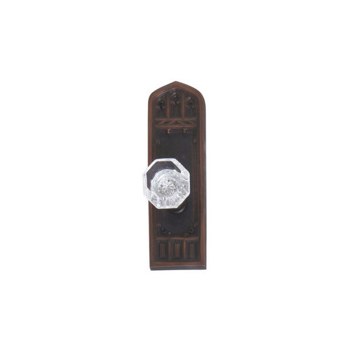 Brass Accents D04-K582A-HTF Renaissance Collection Door Plate Set, Venetian Bronze