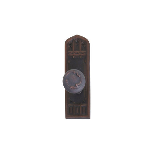 Brass Accents D04-K582A-LFT Renaissance Collection Door Plate Set, Venetian Bronze