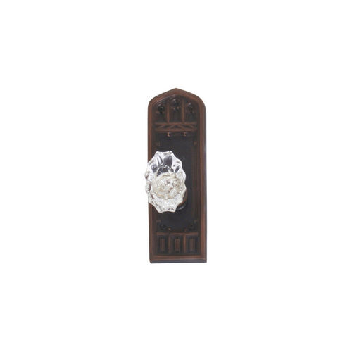 Brass Accents D04-K582A-SAV Renaissance Collection Door Plate Set, Venetian Bronze