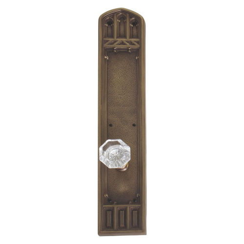 Brass Accents D04-K584A-HTF Renaissance Collection Door Plate Set, Aged Brass