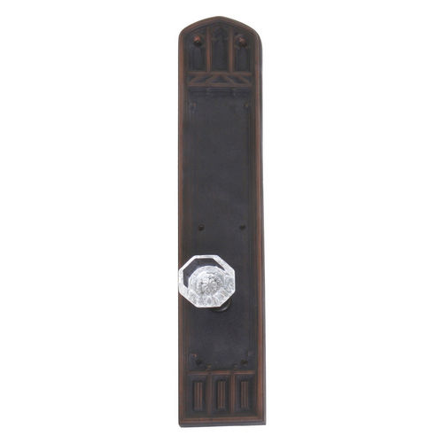 Brass Accents D04-K584A-HTF Renaissance Collection Door Plate Set, Venetian Bronze