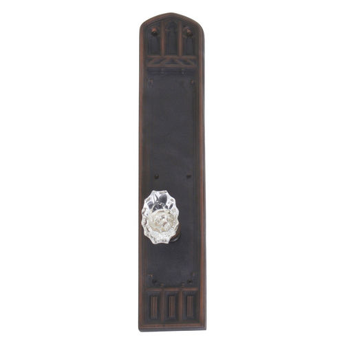 Brass Accents D04-K584A-SAV Renaissance Collection Door Plate Set, Venetian Bronze