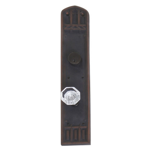 Brass Accents D04-K584J-HTF Renaissance Collection Door Plate Set, Venetian Bronze