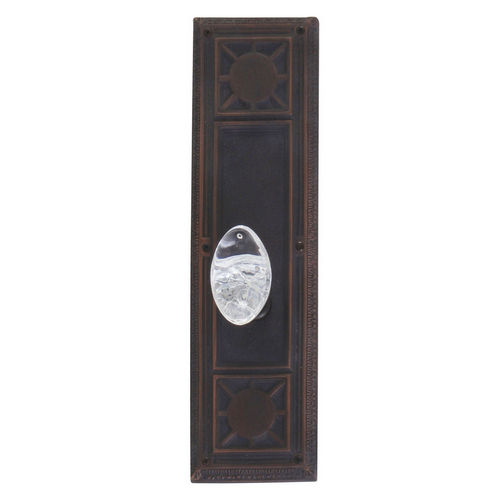 Brass Accents D04-K720A-GTN Renaissance Collection Door Plate Set, Venetian Bronze