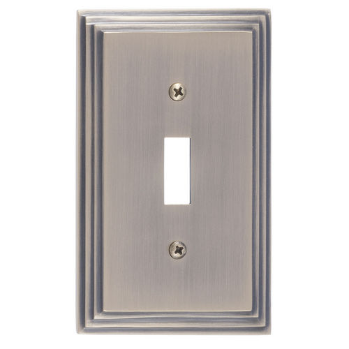 Brass Accents M02-S2500 Classic Steps Single Switch, Antique Brass