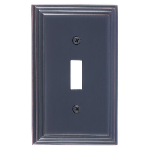 Brass Accents M02-S2500 Classic Steps Single Switch, Venetian Bronze