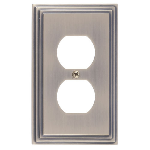 Brass Accents M02-S2510 Classic Steps Single Outlet, Antique Brass
