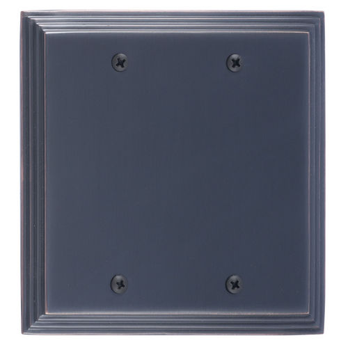 Brass Accents M02-S25XX Classic Steps Double Blank, Venetian Bronze