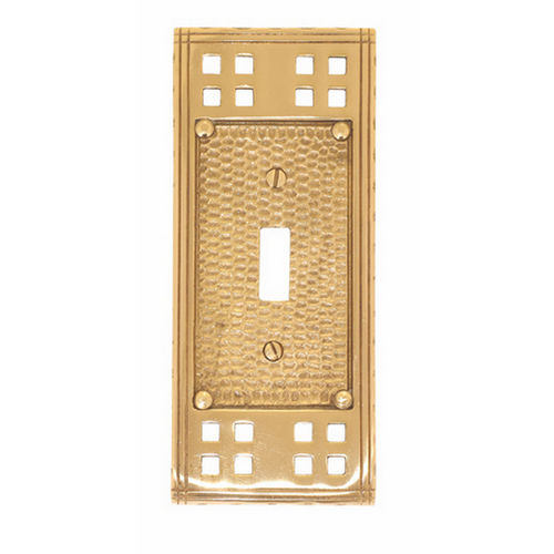 Brass Accents M05-S5600 Arts & Crafts Single Switch 2-3/4