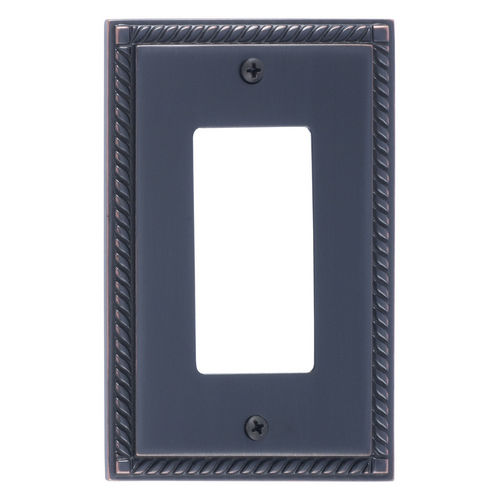 Brass Accents M06-S8520 Georgian Single GFCI, Venetian Bronze