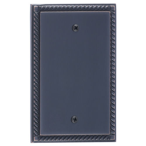 Brass Accents M06-S85X0 Georgian Single Blank, Venetian Bronze