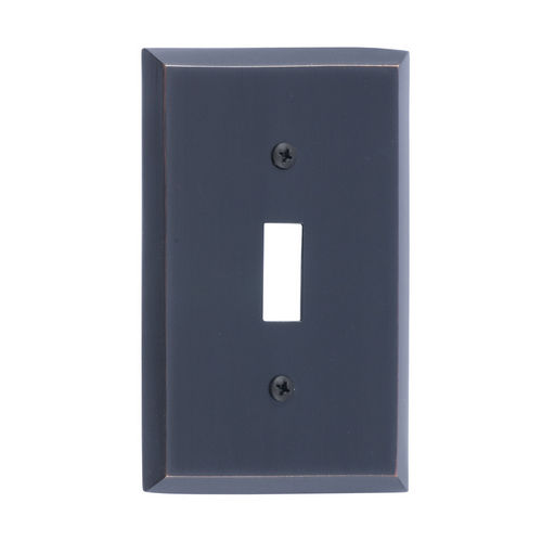 Brass Accents M07-S4500 Quaker Single Switch, Venetian Bronze