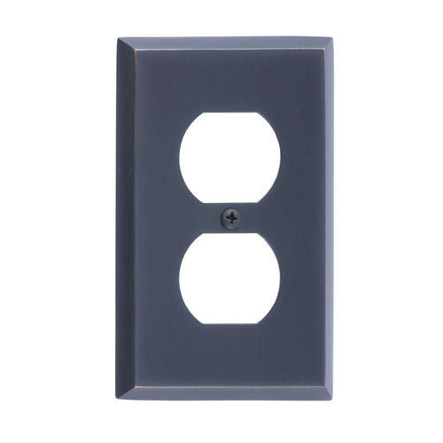 Brass Accents M07-S4510 Quaker Single Outlet, Venetian Bronze
