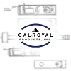 Cal-Royal BBdhg88 Door Guard With Ball Bearing, Satin Brass Blackened