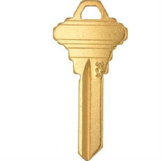 Clk Sc4 Br Key Blank Schlage 6 Pin C Thebuilderssupply Com