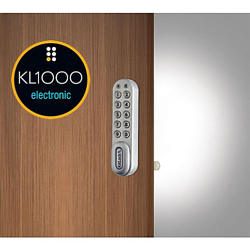Codelocks KL1007SGLH Left Hand KitLock Keypad Locker Lock for 1
