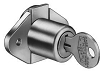 CompX C1968KA1289 Disc Drawer Lock Bolt