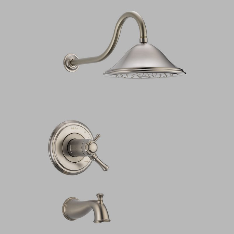 Delta T17t497 Ss Multichoice 17t Series Tub And Shower