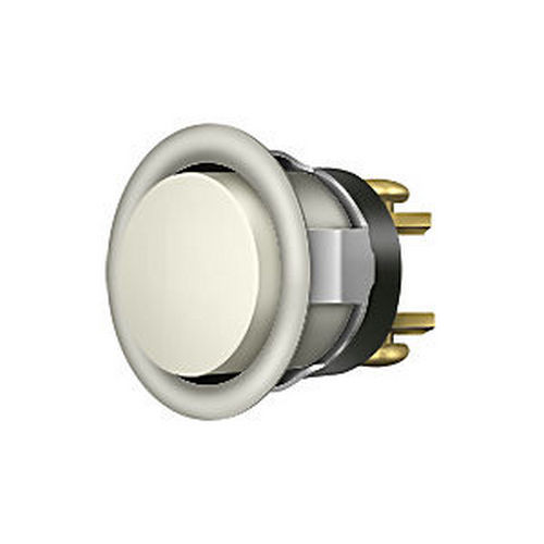 Deltana BBC20-REPLU15 Replacement Bell Button, Satin Nickel
