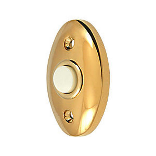 Deltana BBC20CR003 Bell Button, Standard, PVD (Each)
