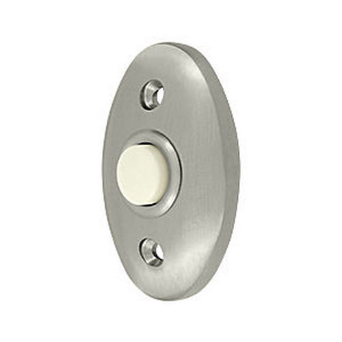 Deltana BBC20U15 Bell Button, Standard, Satin Nickel (Each)