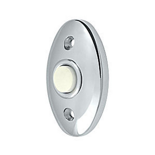 Deltana BBC20U26 Bell Button, Standard, Chrome (Each)