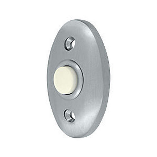 Deltana BBC20U26D Bell Button, Standard, Brushed Chrome (Each)