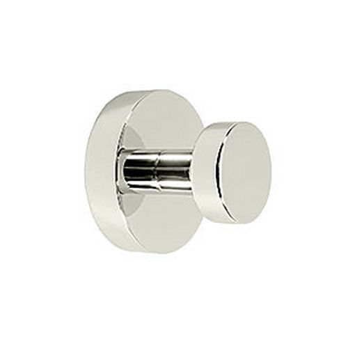 Deltana BBS2009-14 Single Robe Hook Sobe Series, Polished Nickel