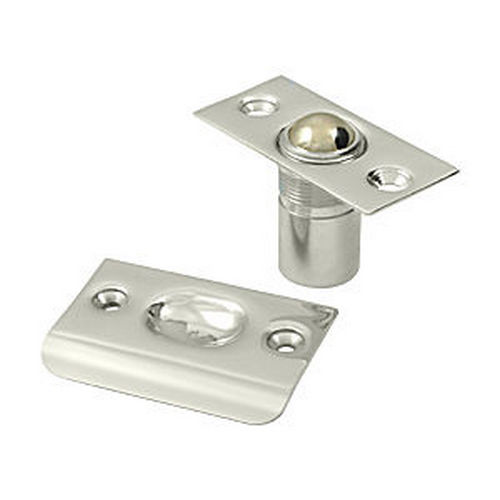 Deltana BC218U14 Ball Catch, Polished Nickel (Each)