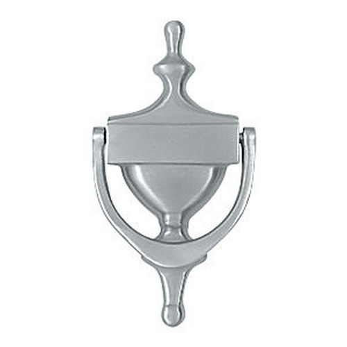 Deltana DK7356U26D Victorian Door Knocker, Brushed Chrome (Each)