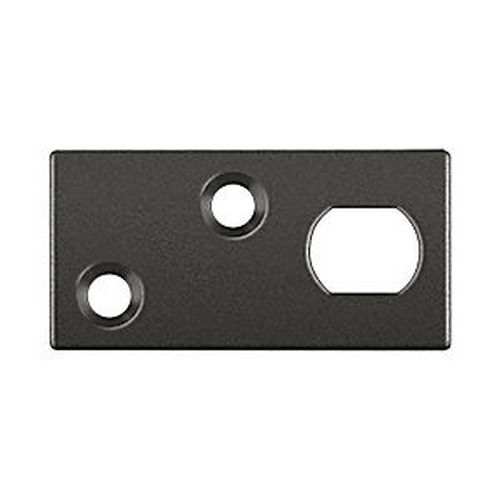 Deltana GP12EFB10B Guide Plate for 12EFB Extension Flush Bolt, Oil Rubbed Bronze (Each)