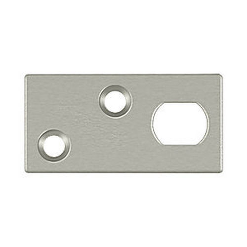 Deltana GP12EFB15 Guide Plate for 12EFB Extension Flush Bolt, Satin Nickel (Each)