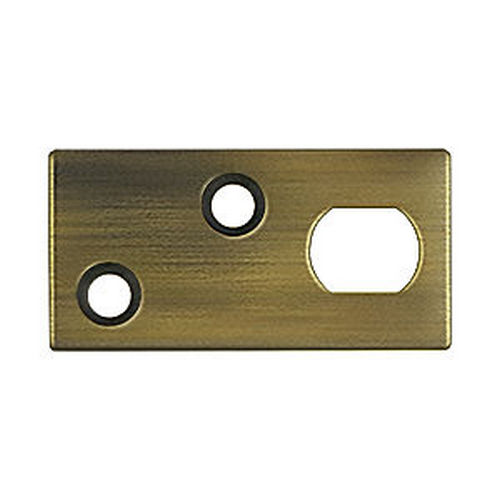 Deltana GP12EFB5 Guide Plate for 12EFB Extension Flush Bolt, Antique Brass (Each)