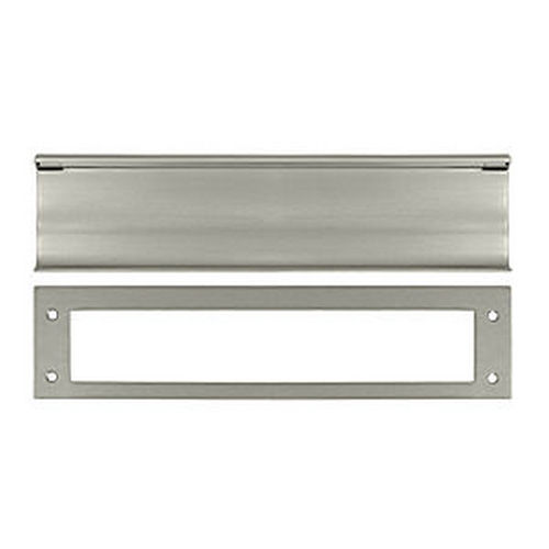 Deltana MS0030U15 Mail Slot, HD, Satin Nickel (Each)