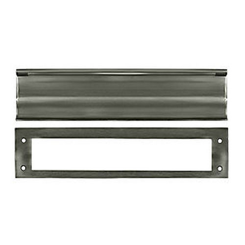 Deltana MS0030U15A Mail Slot, HD, Antique Nickel (Each)